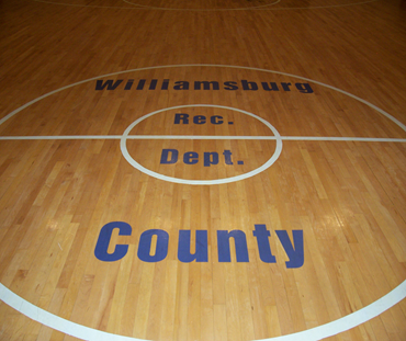 Williamsburg County Recreation Department Gym Floor