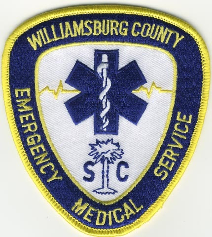 Williamsburg County Emergency Medical Services Patch