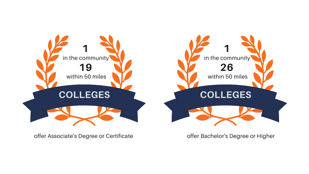 Colleges Infographic