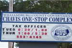 Chavis One-Stop Complex Sign